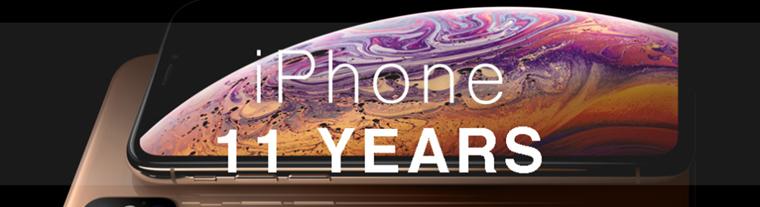 iPhone11年见证苹果式中文广告文案