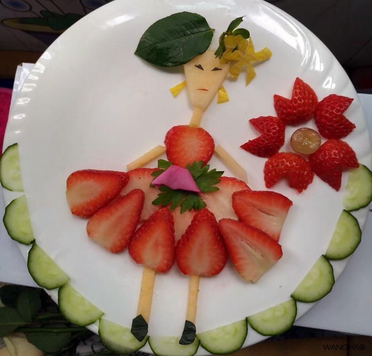 当家长会遇上了水果拼盘-小王子