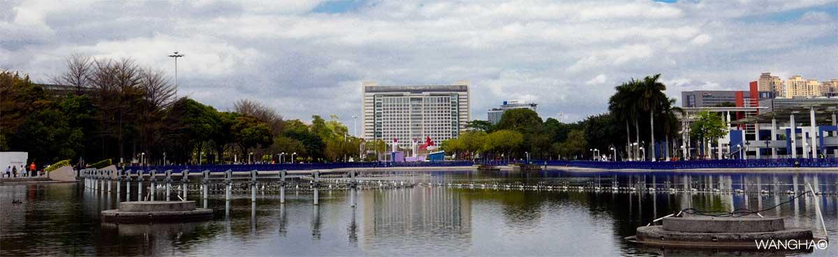 中心广场音乐喷泉